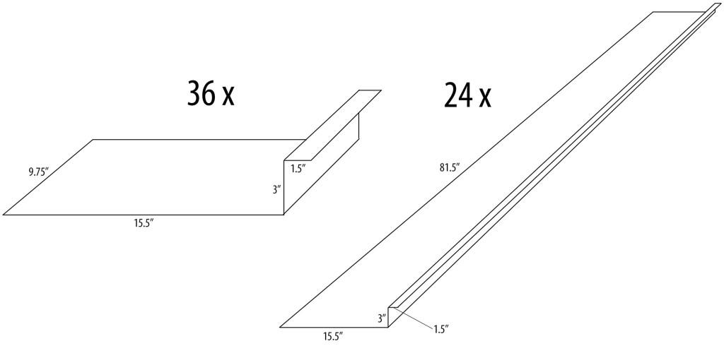 Subfloor Flashing Sheet Metal Quote Request