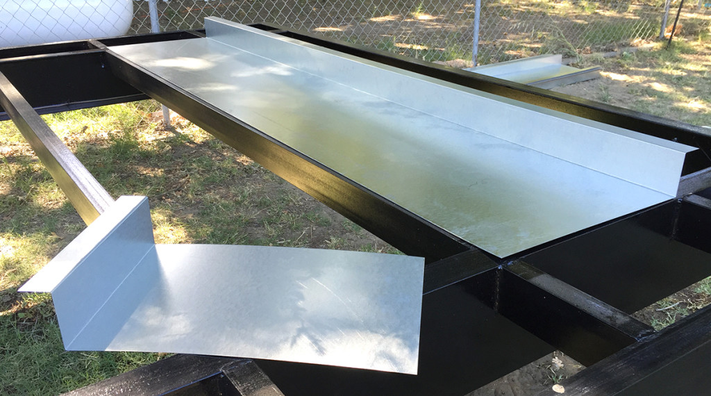 Subfloor Flashing Ordered by Her Tiny Home
