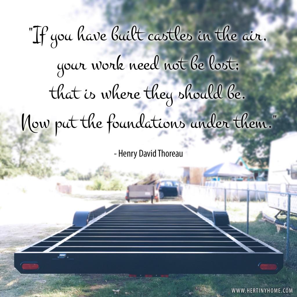 Thoreau Foundation Quote