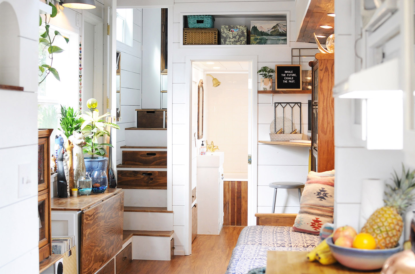 Self Built Two Bedroom Tiny House In California