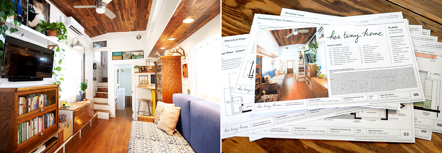 Her Tiny Home | Self-Built Two-Bedroom Tiny House in California
